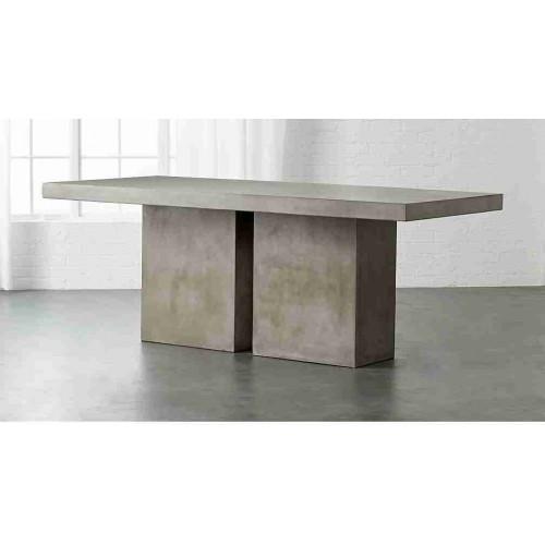 Beton Masa - Kübik Tasarım Beton Yemek Masası