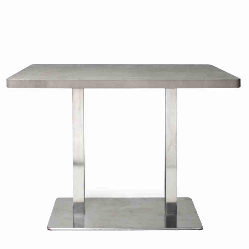 Beton Bistro Masa - Bar Masası